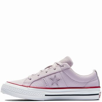 Gyerek Converse One Star Leather New Heritage Rövidszárú Tornacipő | 682QCUAJ
